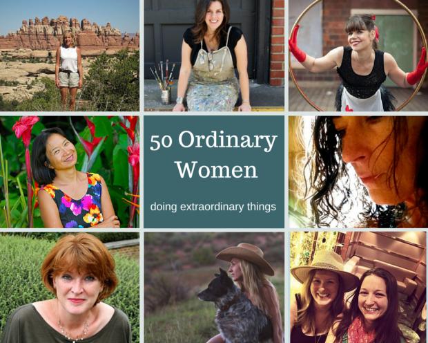 50 Ordinary Women doing extraordinary things