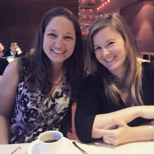 Jennifer Eklund (L) and Kristin Yost (R)